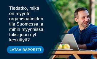 Mikä on myyntiorganisaatioiden tila Suomessa?